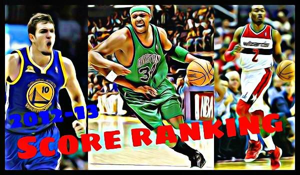 NBA2012-13シーズンの得点ランキング【16位~18位】