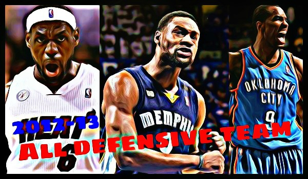 2012-13 NBAオールディフェンシブチーム