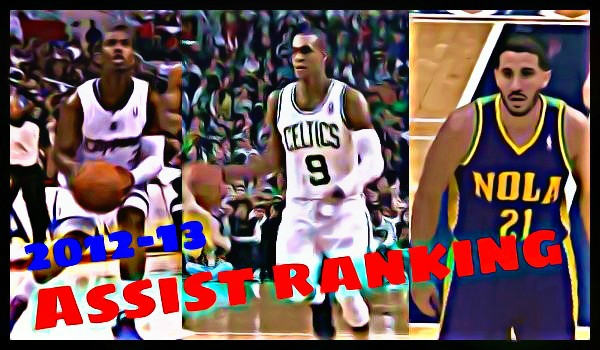 NBA2012-13シーズンのアシストランキング【1位~3位】