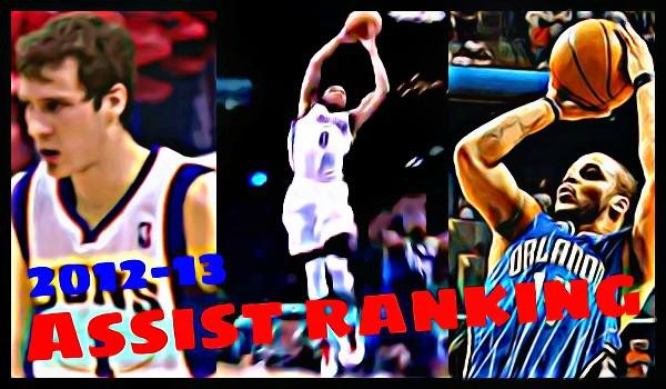 NBA2012-13シーズンのアシストランキング【7位~9位】