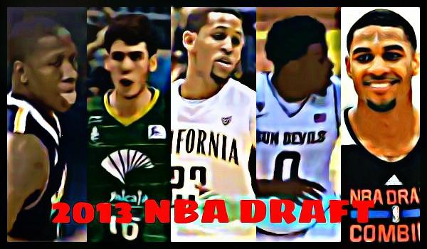 2013年NBAドラフト 【2巡目31位~35位】