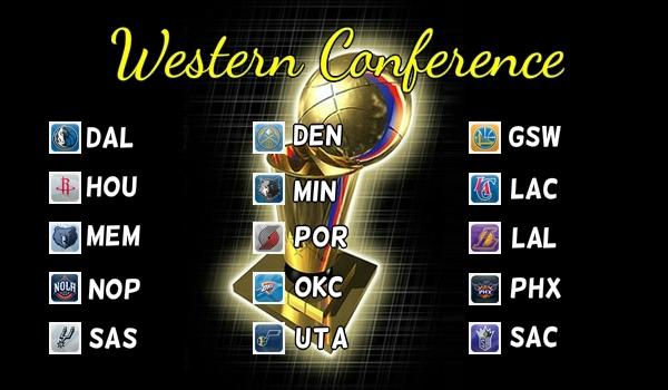2013-14 ウェスタン・カンファレンス
