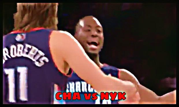 【NBA】シャーロット・ボブキャッツvsニューヨーク・ニックス 11月6日結果