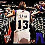 サンズ スティーブ・ナッシュに栄誉のリングを授与