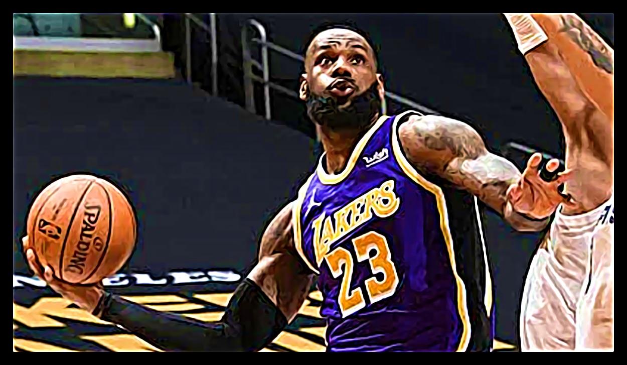 レブロン・ジェイムス「レイカーバスケットボールをプレイしないと」